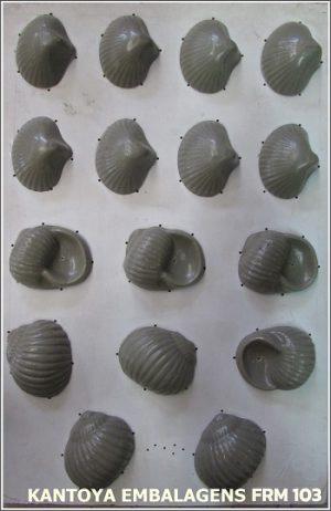 Forma Sachet Miscelânea Conchas