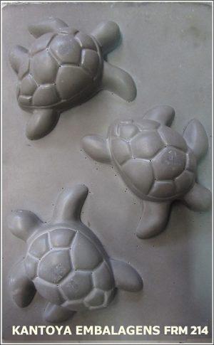 Forma Sabonete Tartaruga Marinha