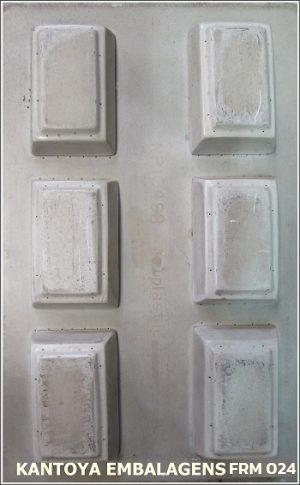 Forma Sabonete Tablete Liso