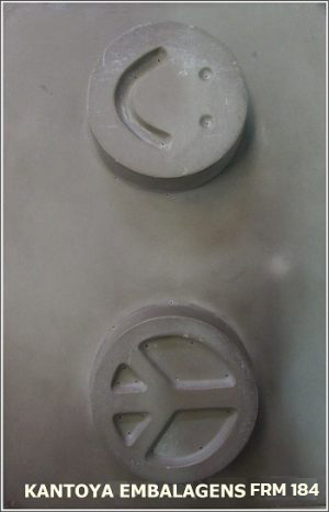 Forma Sabonete Smile, Símbolo da Paz