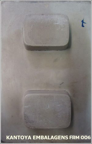 Forma Sabonete Retangular