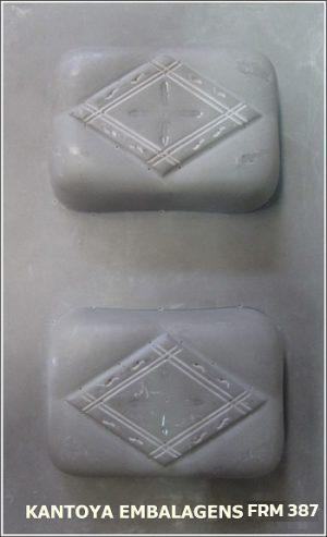 Forma Sabonete Retangular com Detalhe