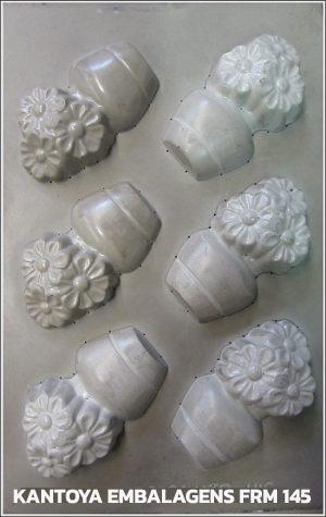 Forma Sachet Vaso com Flores