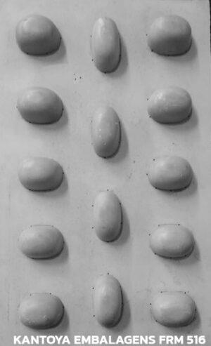 Forma Sabonetes Redondos