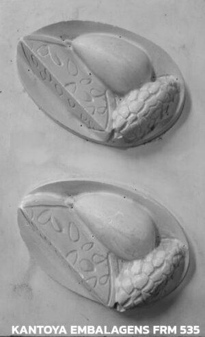Forma Sachet Tigela frutas