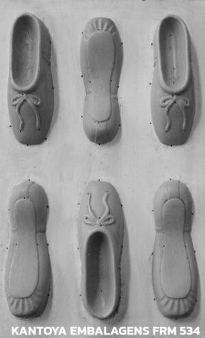 Forma Sachet sapatilha de balé